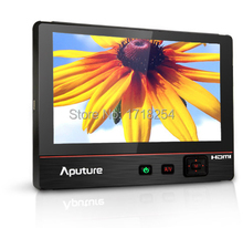 Aputure V-Screen VS-3 ultra-thin 7'' IPS LCD Field monitor HDMI/YPbPr/AV (Audio/L/R) for DSLR free shipping+free gift