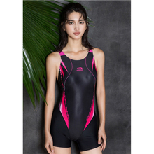 One Piece Swimwear 2017 Women Triathlon Suit Racing Competition Sports Boxer Backless Tight Full Body Swimming Beach Suit XXXL