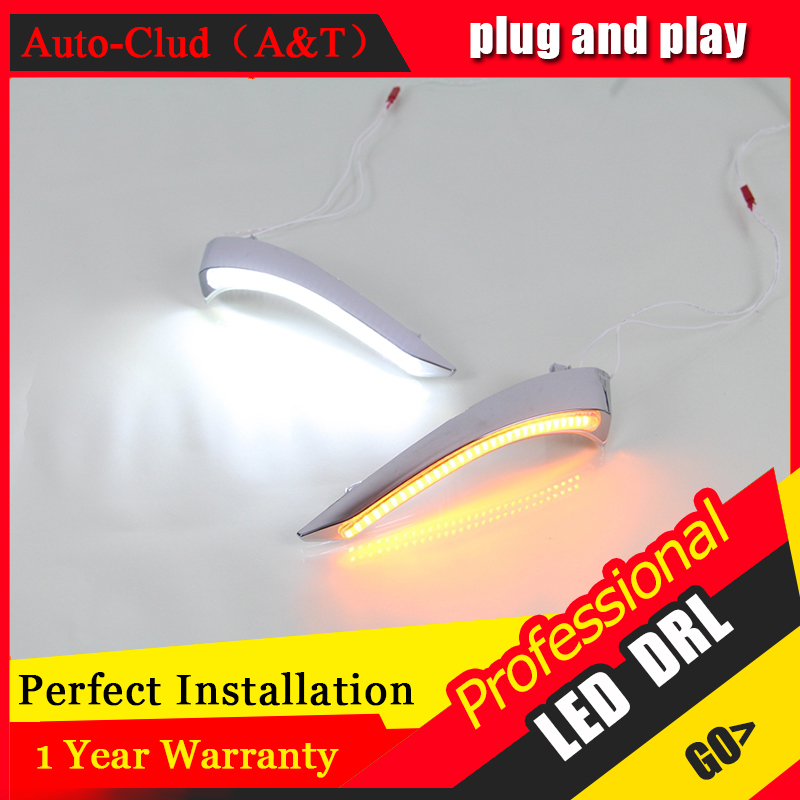Auto Clud car styling For Mazda 2 LED DRL For Mazda 2 led fog lamps daytime running light High brightness guide LED DRL<br><br>Aliexpress