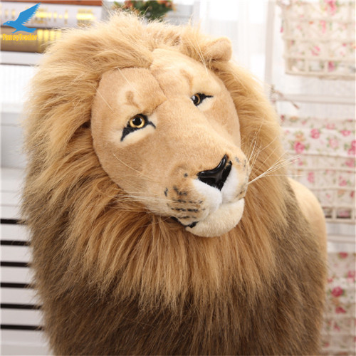 Fancytrader 43\'\' Giant Plush Stuffed Simulation Lifelike Lion King Simba Can be Rided by Kids Great Gift FT90284 (11)