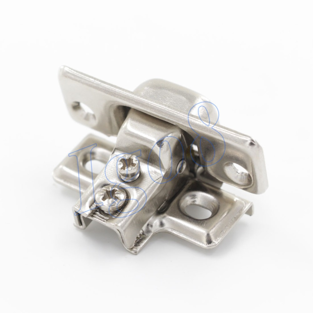 2pcs Cold Rolled Steel Cabinet Short Arm Hinge Fixed Hinges<br><br>Aliexpress