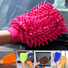 Chenille Gloves Clean Gloves Washing Towels Household Cleaning Helper Microfiber Cloth Cleaning Cloth