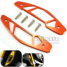 BJMOTO For Yahama MT-09 MT09 2014-2015 Motorcycle CNC Aluminum Air Intake Covers Orange Motorcycle Accessories(China)