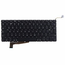 "Computer Replacement Keyboards US Standard Fit For 2008 Apple Macbook Pro Unibody 15"" A1286 Laptops Keyboards VCX70"