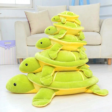2016 New Stretch Super Soft Plush Turtle Toys, Simulation Turtle Plush Toys, Birthday Gifts(China)
