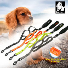 Truelove nylon dog pet leashes lead running walking reflective with Soft handle leash for dogs supplies dog dropshipping stock(China)