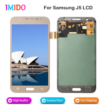 Made in China Top Screen For Samsung Galaxy J5 J500fn J500M LCD Display 2015 Touch Screen Digitizer Assembly Replacement(China)