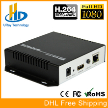 DHL Free Shipping H.264 Video Encoder Support HDCP HDMI To IP Live Streaming Encoder IPTV Hardware RTMP RTSP HLS UDP Streamer(China)