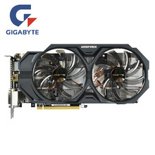 Видеокарты GIGABYTE GV-N760WF2OC-2GD GPU 256Bit GDDR5 GTX 760 2GB карта для видеокарт nVIDIA Geforce GTX760 Hdmi Dvi(Китай)