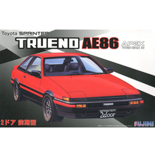 Fujimi 03963# ID-183 1/24 Scale Model Sport Car Kit AE86 Trueno 2 Door GT/APEX Early Type plastic model kit