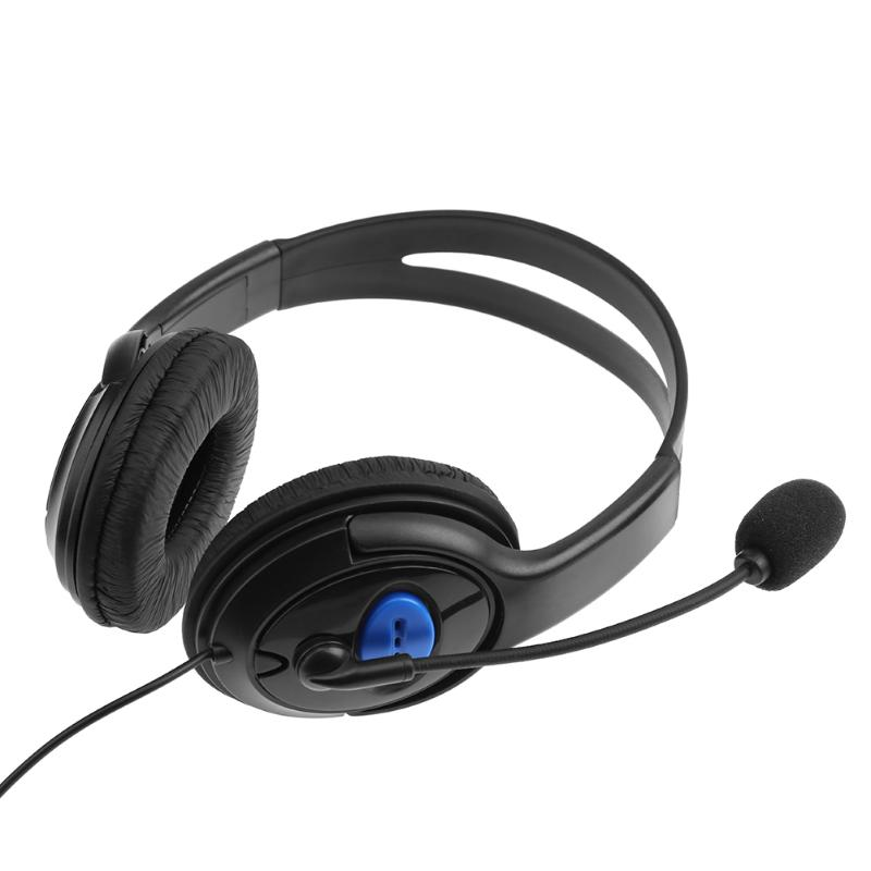 Stereo Wired Stereo Gaming Headset Super Bass Wired Headphone with Mic for Sony Playstation 4 Game Earphone