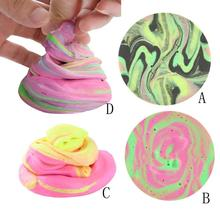 2017 Top Sale multicolor No Borax Kids Sludge playdough slime toys intelligent plasticine for children play dough clay #JD824(China)
