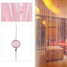 Home decoraion Decorative String Curtain Beads Wall Panel Fringe Room Door Window bedroom curtains
