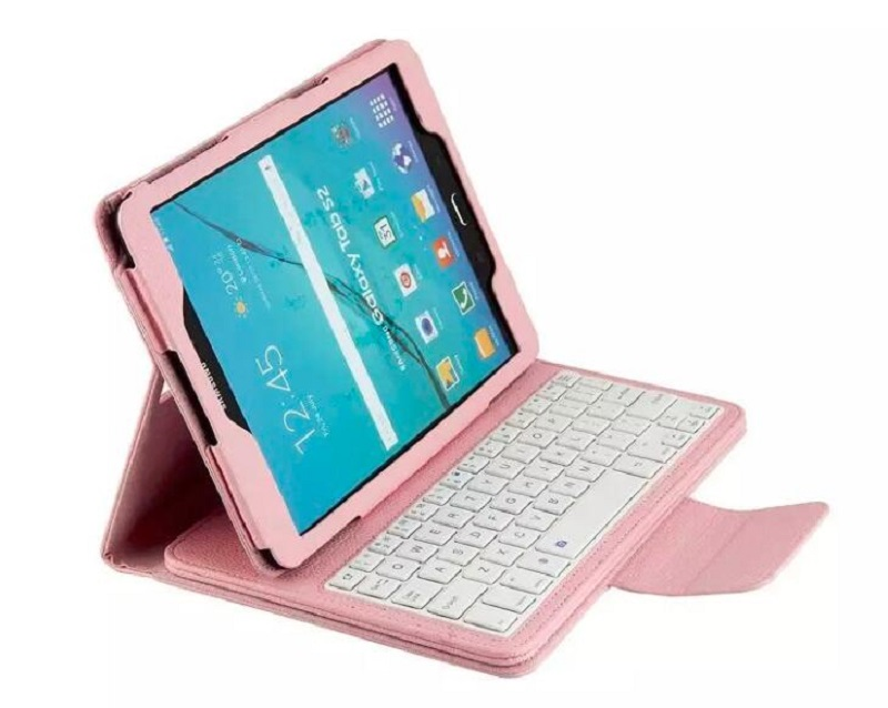 For Samsung Galaxy Tab S2 9.7 Removable Bluetooth Keyboard Case for Samsung Galaxy Tab S2 9.7 T810 T815 Tablet free shipping<br><br>Aliexpress