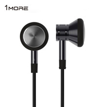 Original Brand 1MORE Piston In-Ear Earbud Earphone HiFi Stereo Metal Headset fone de ouvido with Mic for Xiaomi Samsung EO303