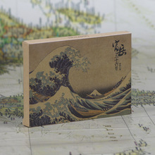 36pcs in one,Postcard,Katsushika Hokusai,Edo age of Japan Ukiyoe,Christmas Postcards Greeting Birthday Message Cards 10.2x14.2cm