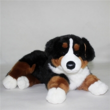 Big Stuffed  Animal Toy Cute  Plush Bernese Mountain Dog Doll Toys for Children Gift Pillow
