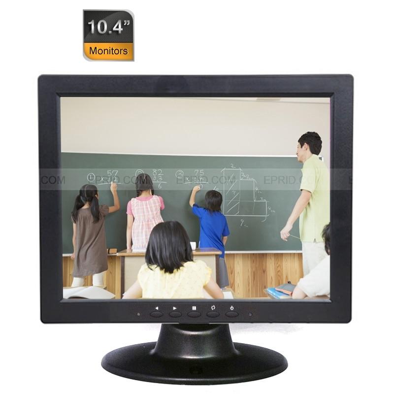5pcs Portable 10.4 CCTV Security Monitor 4:3 TFT-LCD BNC VGA Port 640x480<br><br>Aliexpress