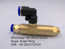 Waste oil burner nozzle /Brass oil mist nozzle, siphon feed oil nozzle/siphon Fuel Oil Burner Air Atomizer Nozzle