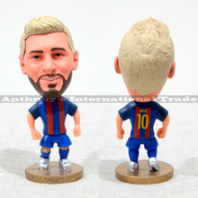 "Soccer Lionel Mes** (B) 2.5"" Toy Doll Figure 2016-2017 season Best Gift to you"