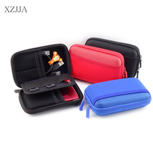 XZJJA High Capacity Mobile Hard Drive Storage Boxes Earphone Wire Bag Cellphone Data Cable Line Travel Organizer Smart Cover