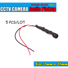 High Quality Type Audio Pickup Microphone Sound Monitor for CCTV System