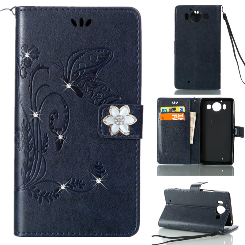 Clothing, Shoes & Accessories Trustful Fashion Anti-knock Bling Leather Flip Case For Nokia Lumia 650 550 640 Xl 625 950 930 530 Glitter Wallet Phone Bag Shell Cover