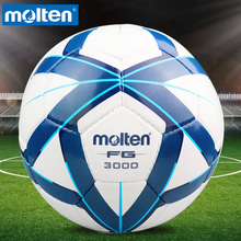 Original Molten F5G3000 Size 5 PU Match Ball Professional football soccer goal balls of football ball balon bola de futbol(China)