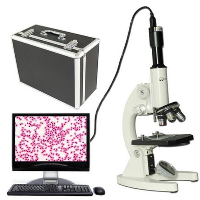 New Microscope Students Bio - optics High - power Professional 2500x Scientific Experiment Aquaculture Digital<br><br>Aliexpress