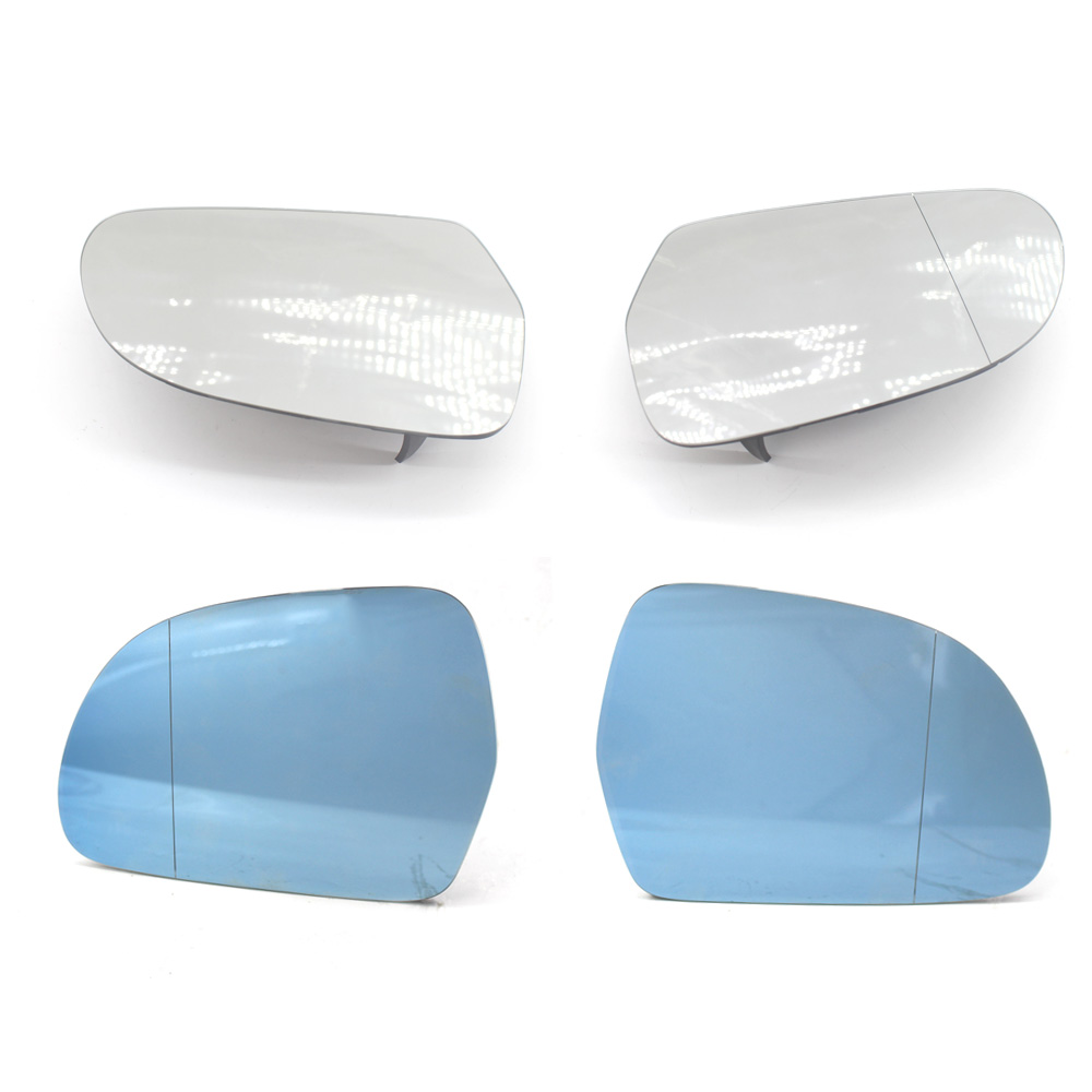 RIGHT DRIVER SIDE AUDI A6 S6 2007-2011 MIRROR GLASS WITH BACK PLATE