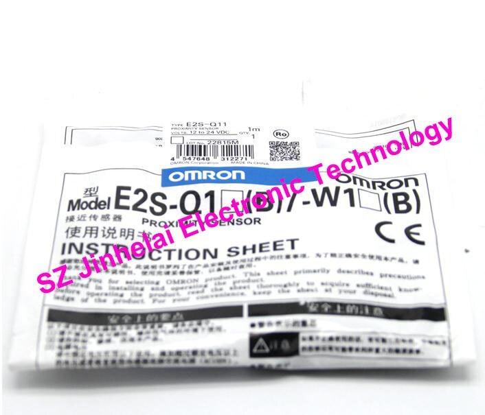 New and original  E2S-Q11,  E2S-Q13  OMRON  Proximity sensor,Proximity switch, 12-24VDC     1M<br>