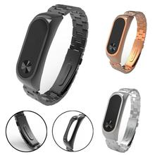 Buy Xiaomi Mi Band 2 Stainless Steel Luxury Wristband Metal Ultrathin New Strap NO1 Drop for $8.22 in AliExpress store