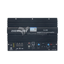 ZL980 Car Audio Power Amplifier Board 1000W High Power Bass AMP Subwoofer