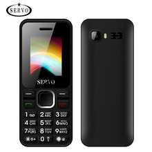 Original Servo V8210 Mobile Phone 1.77 Inch Dual SIM Cell phones Outside FM Radio with Russian Keyboard Multi Language Phone
