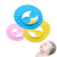 1pc Bath Tool Accessories Waterproof Safe Shampoo Baby Shower Cap Bathing Protect Soft Hat For Children Gorro de ducha