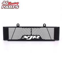Black Motorcycle Accessories Radiator Guard Protector Grille Grill Cover For YAMAHA XJR 1300 XJR1300 1998-2008