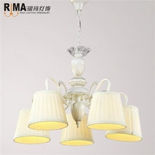 mini chandelier lights down and in cream fabric shade classic chandelier for russia market