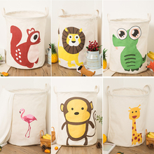 New Large Laundry Hamper Bag  lovely animals Clothes Storage Baskets Home clothes barrel Bags kids toy storage laundry basket