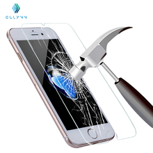 Real premium tempered glass film for iphone 4 4s 5s 6 6s 6plus 7 7plus HD clear 0.26MM scren protector phone film for iphone 6S