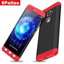 UPaitou 360 Degree Full Cover Red Cases For LeEco Le 2 Pro S3 X626 X620 X527 X520 X522 Case 3 in 1 PC Cover For Letv Le2 Cover(China)