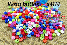 1000PCS 6MM kid toy shirt BUTTONS MIXED RESIN button JEWELRY FIT pearl brand garment clothes fits R-084a