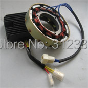 free shipping generator spare parts Charge Regulator and generator together sell 178F 186F 186FA suit for kipor Kama