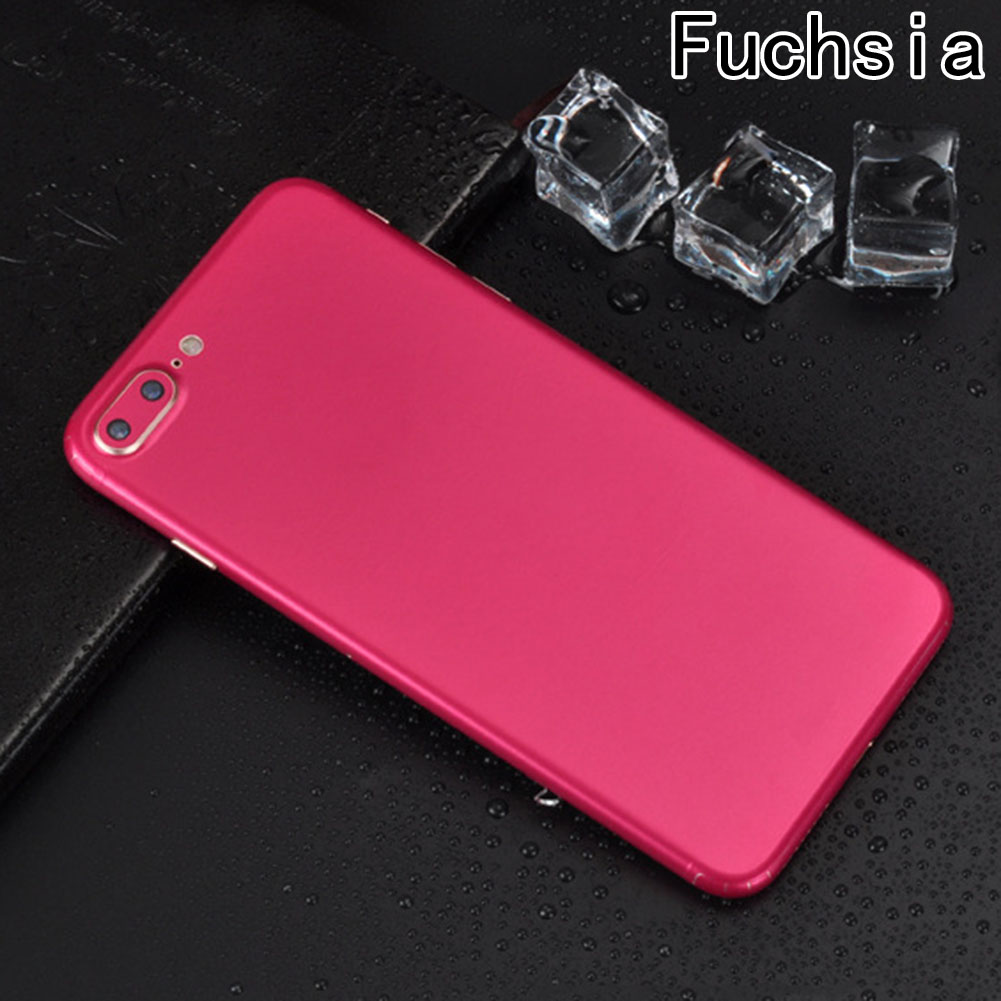 New Ice Surface For iPhone 7 8 7 Plus 8 Plus Red Back Film Thin Screen Protector Protective Cover Stickers Color Paster Rear