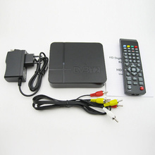 DVB-T2 H.264 TV Satellite Receiver HD 1080P Video Broadcasting Set Top Box+Cable+Remote Control+EU Plug Power Adapter Mayitr