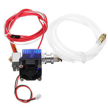 Extruder V6 Hotend All Metal Bowden extruder J-head V6 For Makerbot Reprap 3D printer parts With Fan PTFE Tube(China)