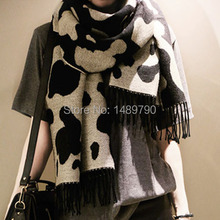 Free shipping!Scarf Women 2014 Autumn And Winter Female Great Leopard High-grade Thick Long Scarf Double Side Scarf