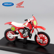 1 18 scale miniatures Child's Honda Steed 600 motorcycles Motorbike metal Car styling bike model Die cast toys vehicle for boys