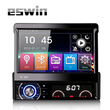1 Din Car Multimedia Auto Radio DVD Player GPS Navigation With 7 Inch Touch Screen Detachable Panel Support FM AM Video USB SD