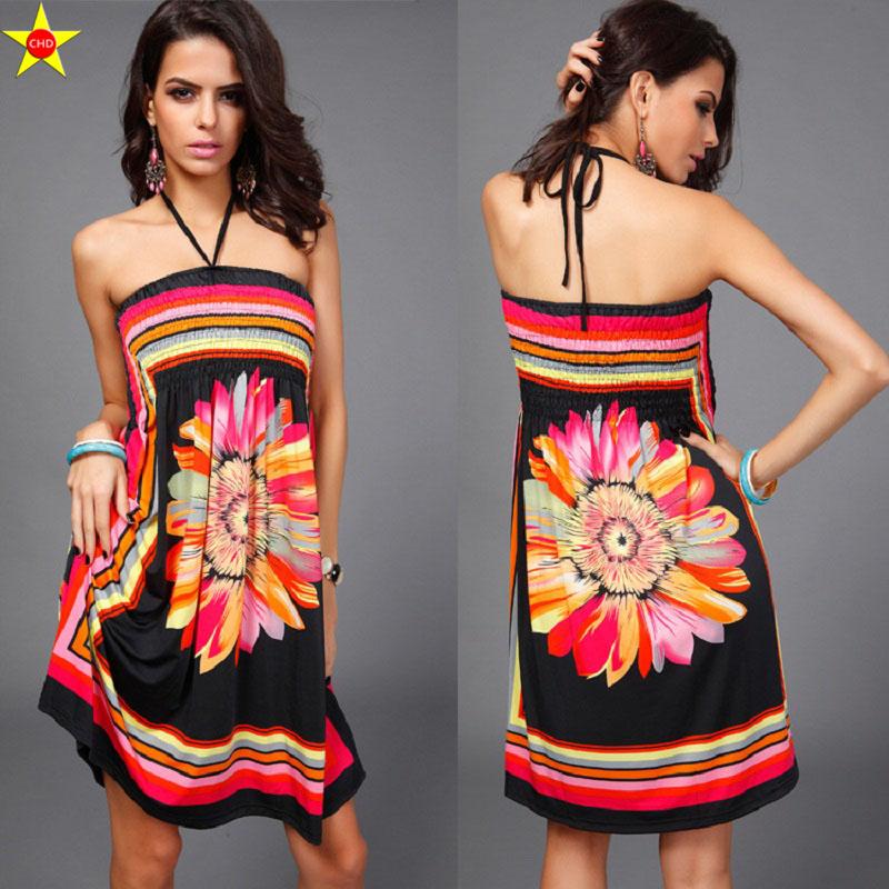 Swaggy HTB1MqzLRpXXXXbuaFXXq6xXFXXXK Sommerkleid mit V-Schnitt aus Seide - 23 verschiedene Farben