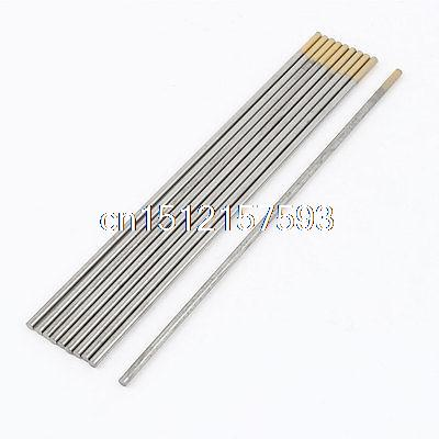 10 Pcs TIG Welding 1.5% Lanthanated Tungsten Electrodes 1/8 x 7<br>